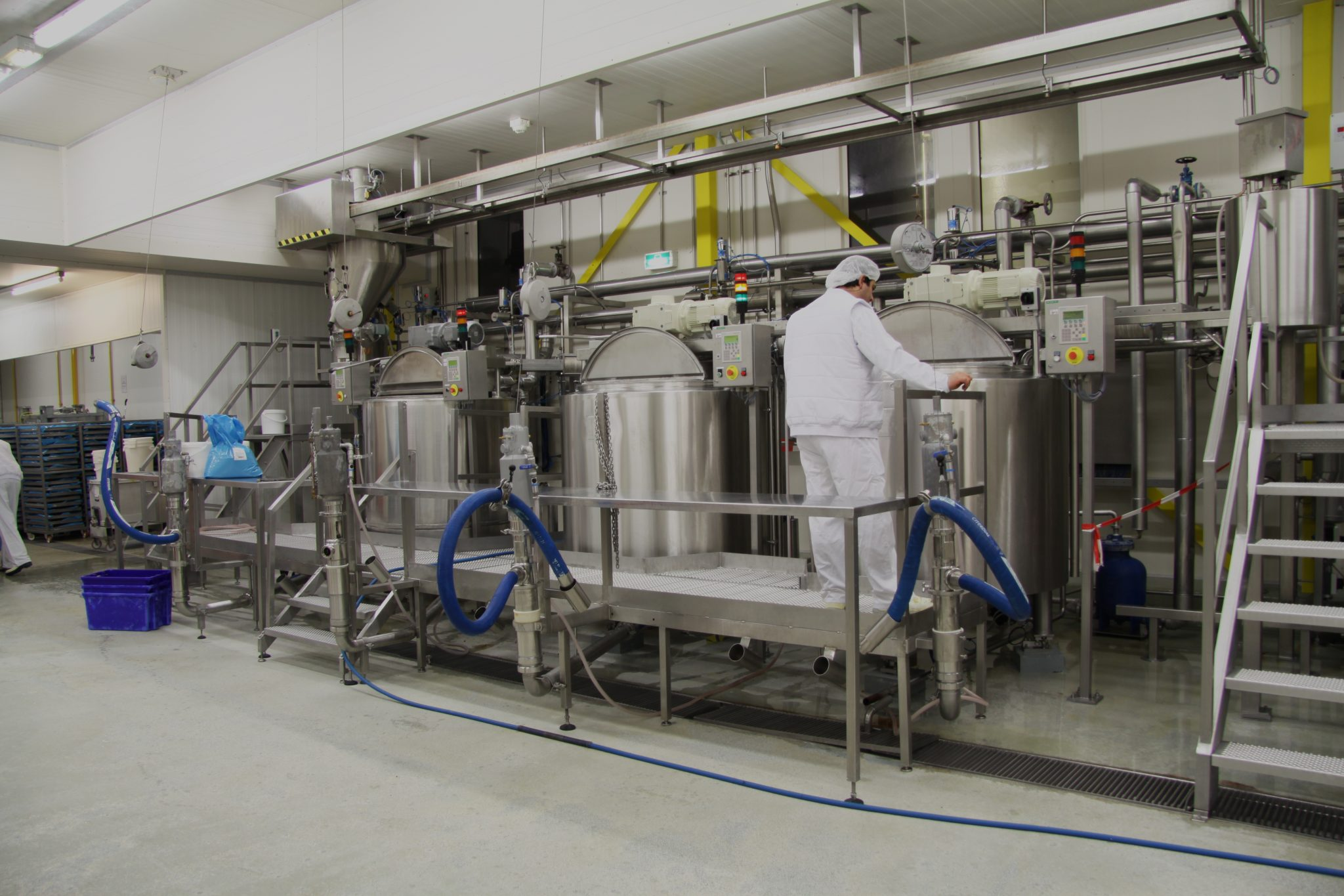 Tanks for food industry